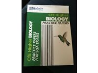 Leckie and Leckie CfE Higher Biology Practice Papers