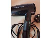 Remington travel hairdryer.