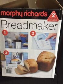 Bread maker by Morphy Richards