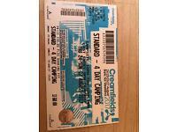 Creamfield ticket