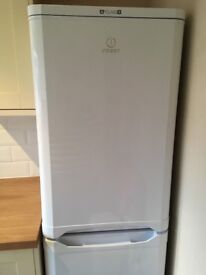 Indesit 50/50 fridge freezer, clean, works perfectly, well maintained