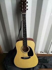 Fender Acoustic Guitar with Ritter Carry Bag