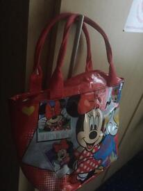 Mini mouse pack lunch bag