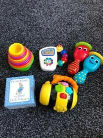 Baby toddler lights sound noisy toys bundle