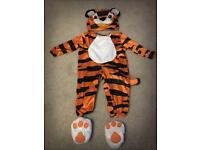 Tiny Tiger Dress Up Outfit Size 6-12 Months