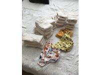 Unused reusable nappies