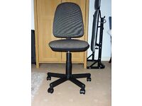 Office/desk chair. Grey and black. Very good condition