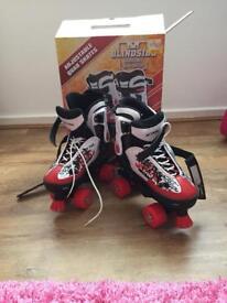 Adjustable Quad Skates size 4-7 new