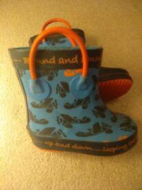Clarks Doodles wellington boots 4.5