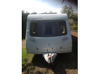 2007 Sterling Europa 6 Berth Touring Caravan With Dinette And Rear Fixed Bunks