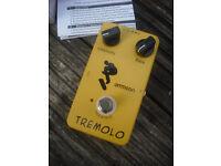 Ammoon tremolo guitar effects pedal joyo fx vibrato trem
