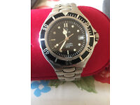 omega seamaster professional midsize quartz watch in mint condition keeping excellent time