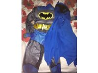 Batman costume with mask/cape age 2-3 only worn once