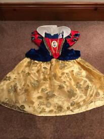 Girls Snow White dress in 1-2 years