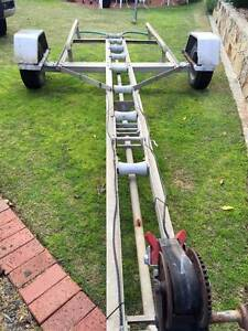 Boat Trailer Panorama Mitcham Area Preview