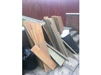 Excellent condition laminate flooring free to uplift needs to go asap