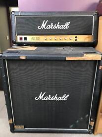 Marshall JCM800 100W (2203) + 4x12 1960b cabinet