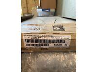 18 boxes of top quality designer Urbatek Porcelanosa Cube Pulido cream tiles 60cm by 30 cm
