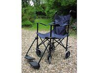 Powertec Lightweight Folding Wheelchair