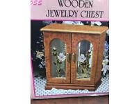Wooden Jewellery Chest