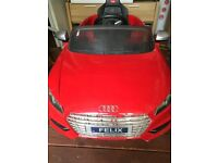 12V Electric Ride On Audi Car (Spares & Repairs)