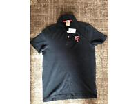 BOYS ABERCROMBIE AND FITCH POLO T SHIRT SIZE LARGE