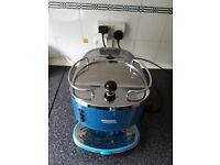 DELONGHI ECO310B ICONA COFFEE MACHINE, ESPRESSO MACHINE BLUE