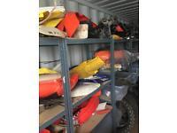 Motocross breakers stock bulk sale, project, Spares repairs, barn find,