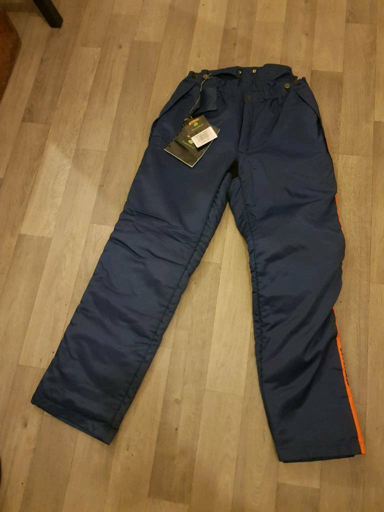 d4835960844 Stihl chainsaw trousers
