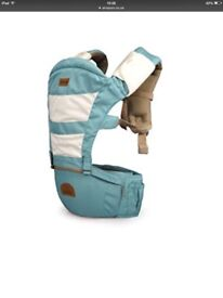 Bebear baby carrier & hip seat