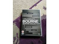 Complete Bourne 4 movie collection.