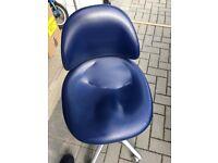 Dental stool height adjustable