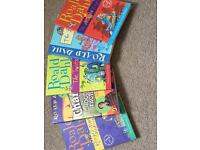 Set of Roald Dahl books