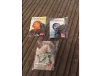 3 lord of the rings pin badges