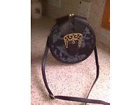Ollie & Nic Black Faux Leather Shoulder Bag - New & Unused