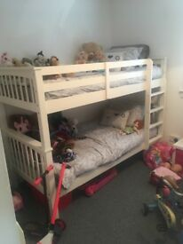 Brand new bunk beds, girls toys and clothes for sale