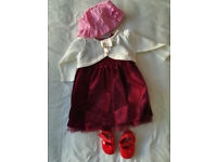 0-3 months girl outfit