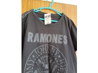 Ramones T Shirt from Cult - NEW with labels - small - £10