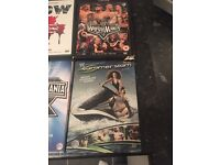 6 classic dvds WWE