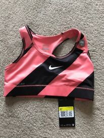 Nike Bra Top, Size Small, Brand New with tags