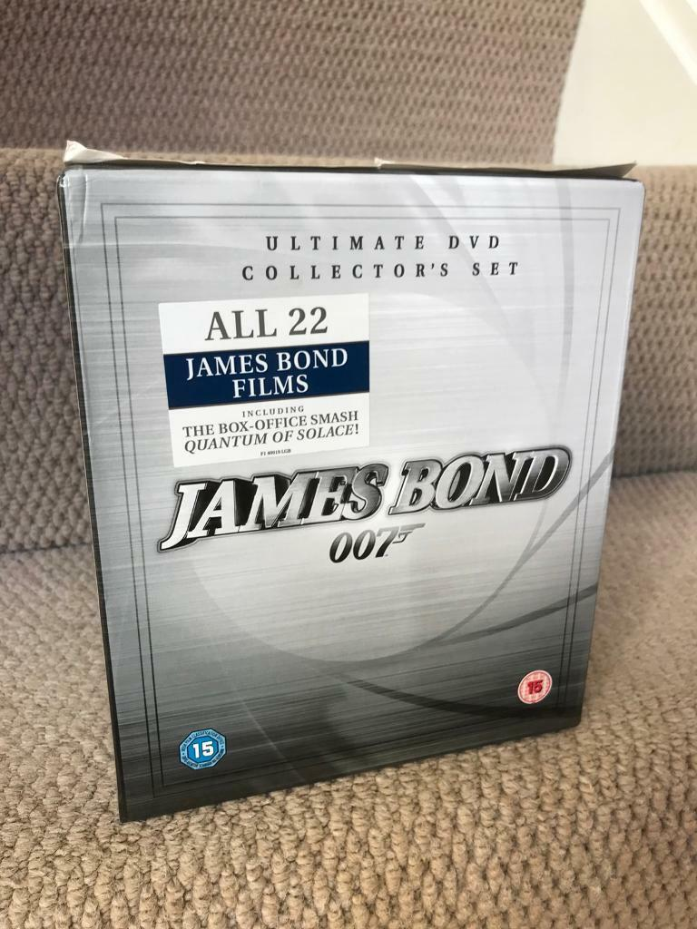James Bond DVD box set | in Kings Lynn, Norfolk | Gumtree