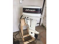 Johnson 30hp Long Shaft Outboard Electric start With Remotes