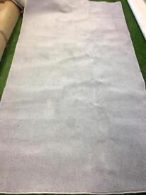 Silver saxony rug
