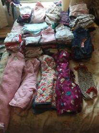 Large bundle 6-9 month girls clothes