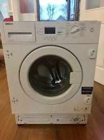 Beka integrated washing machine
