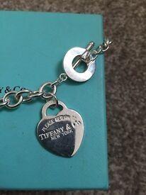Original Tiffany heart necklace