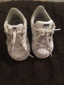 Infant adidas superstars