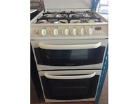 CANNON GAS COOKER 55cm WIDE DOUBLE OVEN WITH GRILL FREE DELIVERY AND WARRANTY