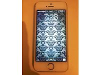 IPHONE 5S GOLD 16GB 5 MONTHS OLD