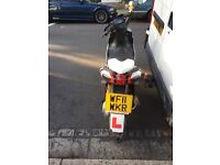 Aprilia sr50 upgrade to 70cc very fast